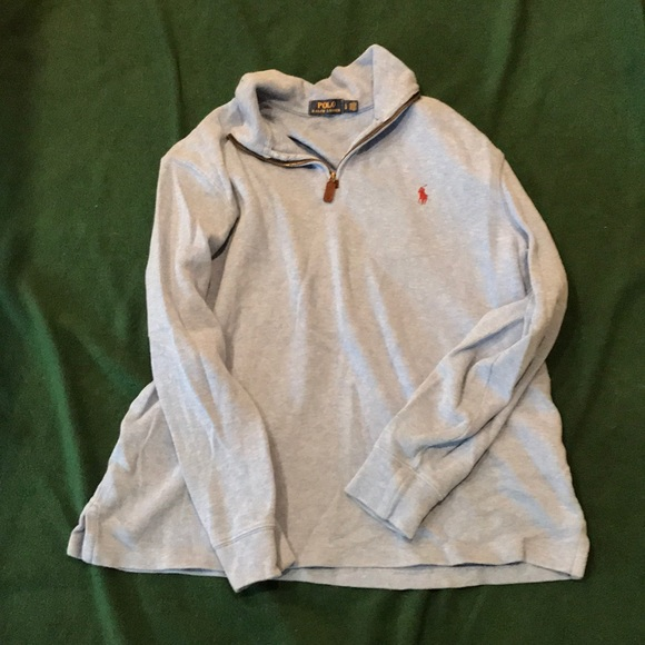 Polo by Ralph Lauren Other - Polo by Ralph Lauren 3/4 zip sweater size L